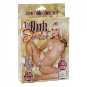 Lalka-THE BLONDE STARLET LOVE DOLL